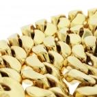 "Miami Cuban 18mm 38"" Yellow Gold Chain"